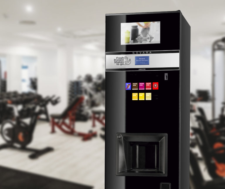 Máquina automática Novara Batidos proteinas